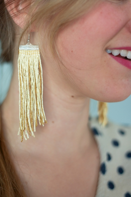 The Alison Show Fringe Earrings