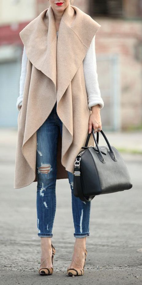 M&J Trimming - Vogue Sleeveless Jacket